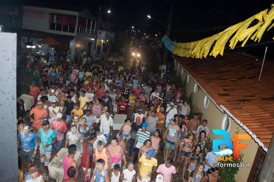 Finalizando o Carnaval de Baía Formosa o Bloco da Rebarba - Prefeitura de Baia Formosa