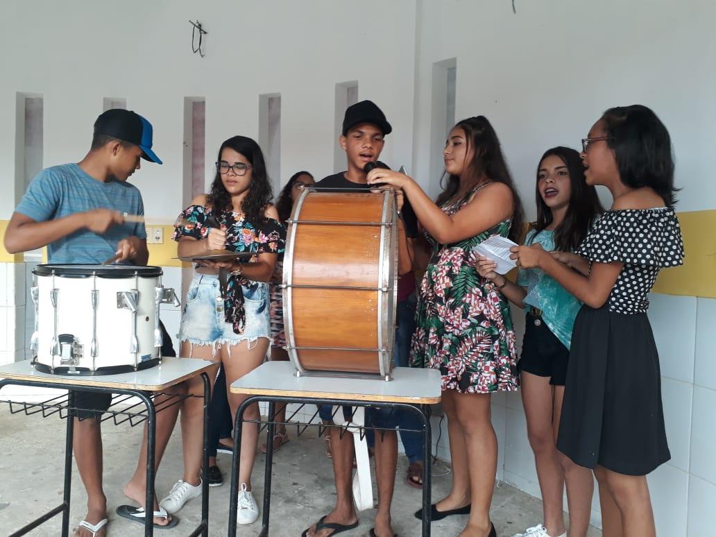 Comemoração do Dia das Mães na Escola Manoel Germano - Prefeitura de Baia Formosa