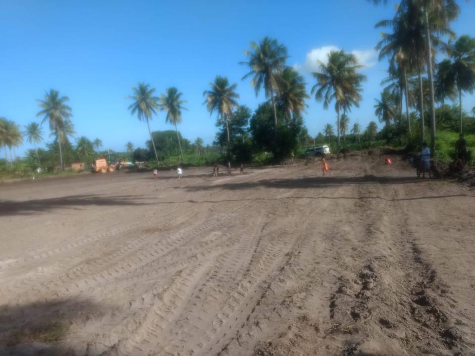 Ampliação do Espaço para o Campo de Futebol da Pituba - Prefeitura de Baia Formosa
