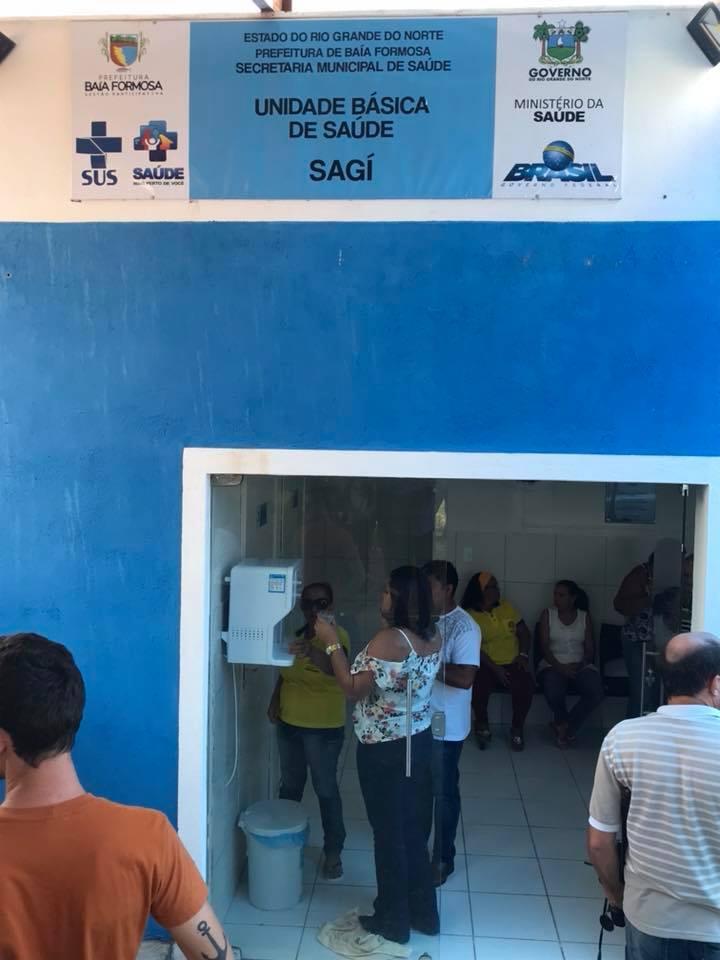 Unidade Básica de Saúde do Sagi - Prefeitura de Baia Formosa