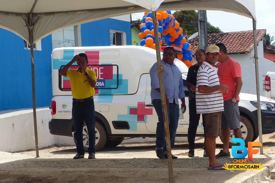 Reinauguração da UBS Pítuba - Prefeitura de Baia Formosa