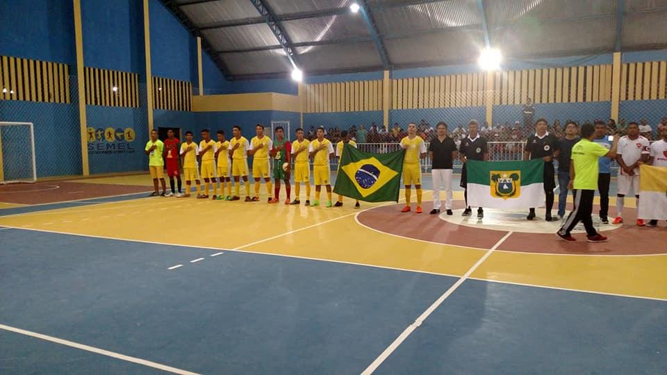 Abertura do Campeonato Municipal de Futsal 2018 - Prefeitura de Baia Formosa
