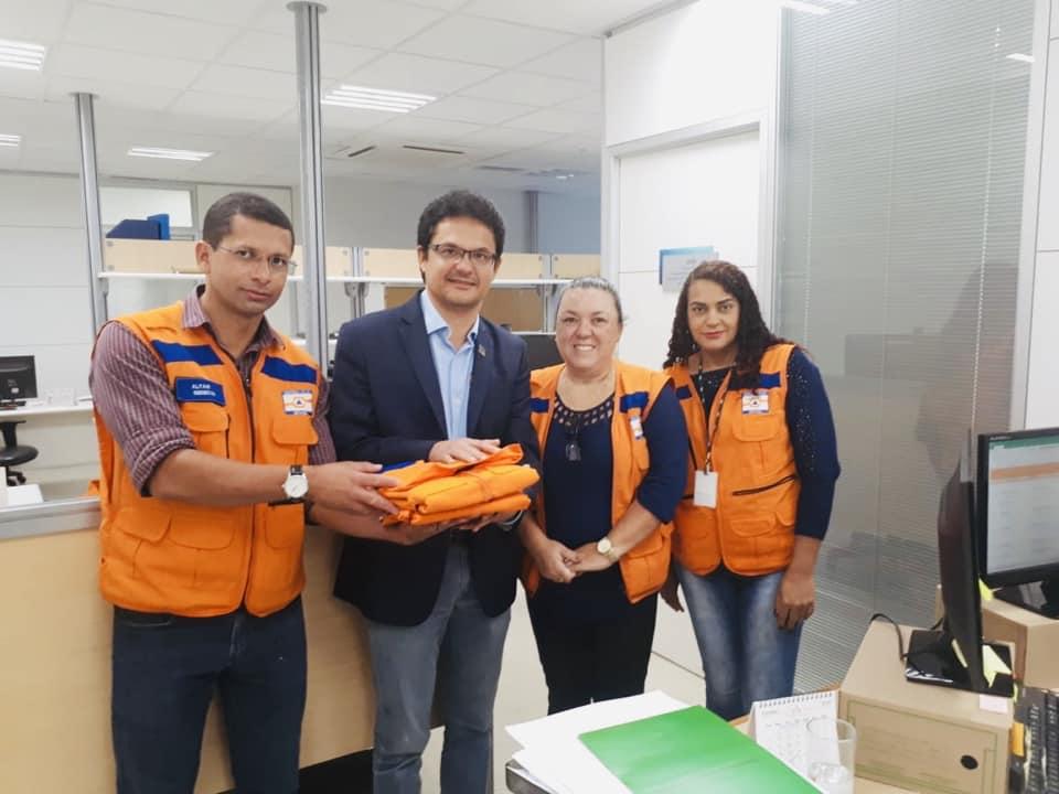 Visita do Prefeito em Brasília - Prefeitura de Baia Formosa