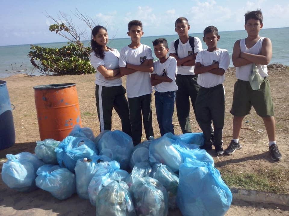 Projeto Pré-militar Faz Mutirão de Limpeza na Praia - Prefeitura de Baia Formosa