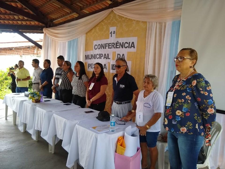 PRIMEIRA CONFERÊNCIA DOS IDOSOS - Prefeitura de Baia Formosa