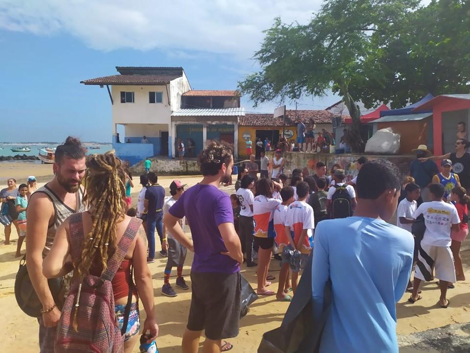 PROJETO CIDADE LIMPA REALIZA MUTIRÃO NA PRAIA - Prefeitura de Baia Formosa