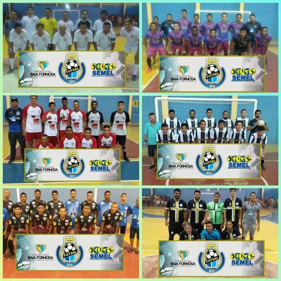 Campeonato Formosense de Futsal 2019 - Prefeitura de Baia Formosa