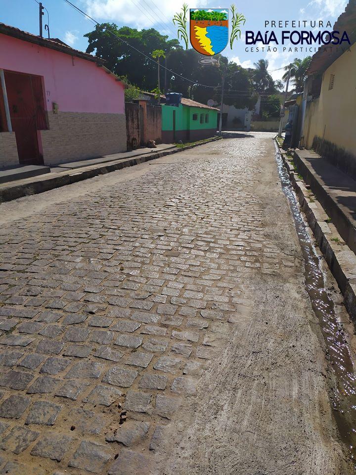 RECUPERAÇÃO DE CALÇAMENTO - Prefeitura de Baia Formosa