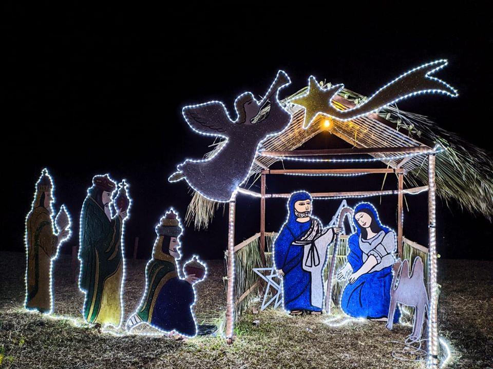 Decoração natalina - Prefeitura de Baia Formosa