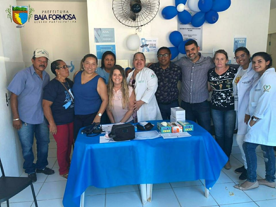 Novembro Azul no PSF Pituba e Sagi - Prefeitura de Baia Formosa
