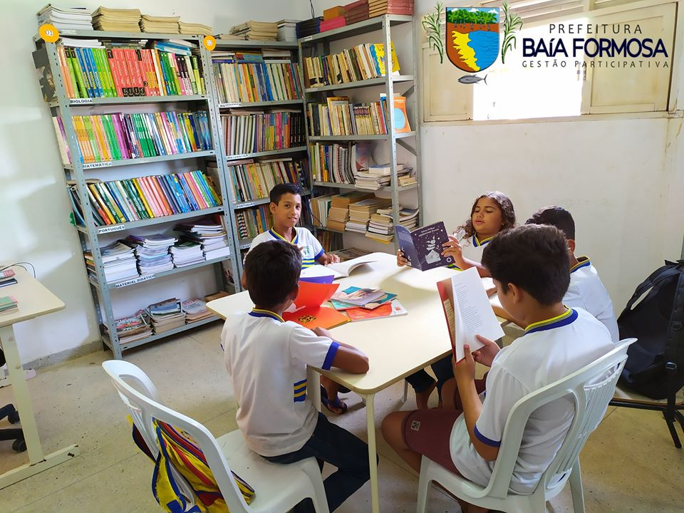 Biblioteca Pública Municipal Margarida Soares - Prefeitura de Baia Formosa