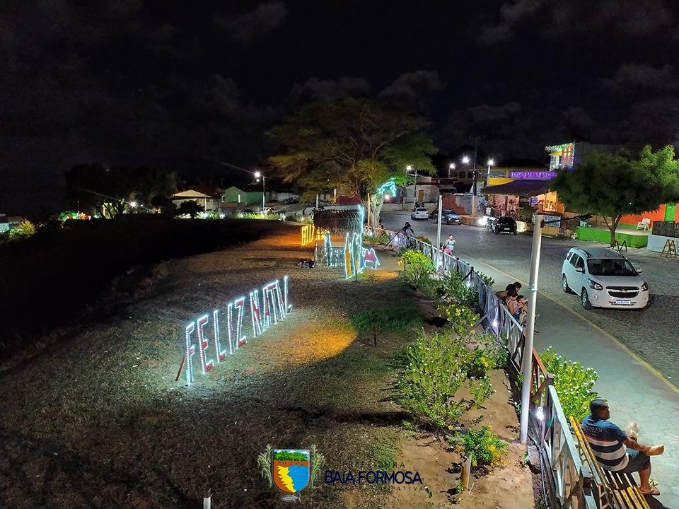Iluminação do Mirante - Prefeitura de Baia Formosa
